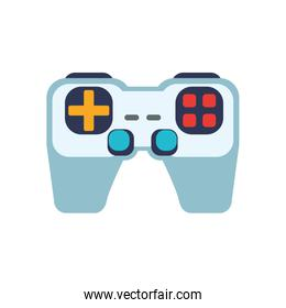 control pixel video game play icon. Vector graphic