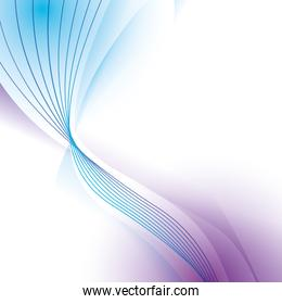 wave wallpaper shiny blue purple background icon. Vector graphic