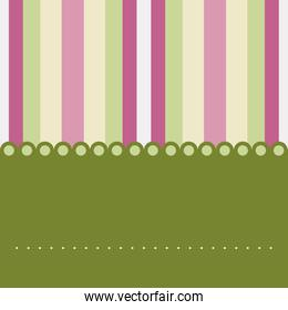 Striped banner background wallpaper banner icon. Vector graphic