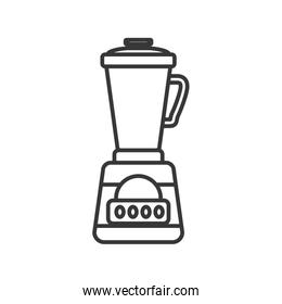 blender supply house electric appliance icon. Vector graphic