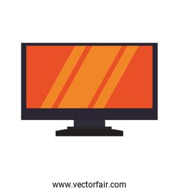 computer gadget device technology icon. Vector graphic