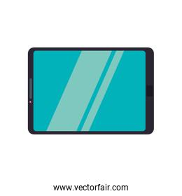 tablet gadget technology communication icon. Vector graphic
