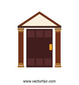 home house building real estate icon. Vector graphic