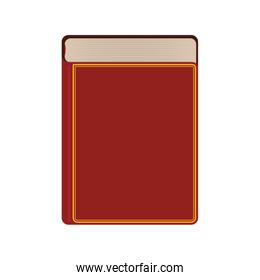 book traditional reading lerning icon. Vector graphic