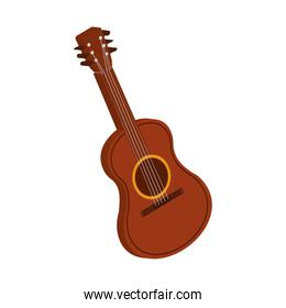 guitar instrument music melody icon. Vector graphic