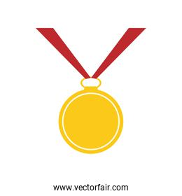medal winner competition sport icon. Vector graphic