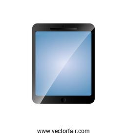 tablet gadget device technology icon. Vector graphic