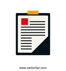medical history health care icon. Vector graphic