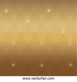background shiny polygonal icon.  Vector graphic