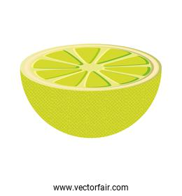 lemon fruit product healthy icon. Vector graphic