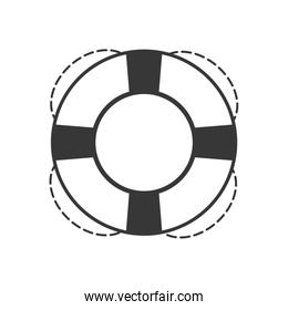 float pool insurance icon. Vector graphic