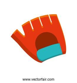 glove fitness healthy lifestyle icon. Vector graphic