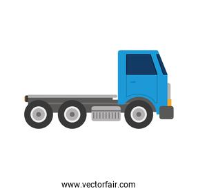truck transportation delivery icon. Vector graphic