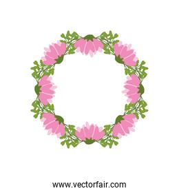 flower garden floral icon. Vector graphic