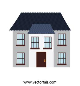 house home real estate building icon. Vector graphic