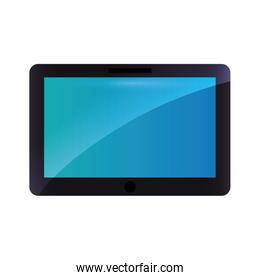 Tablet technology gadget icon