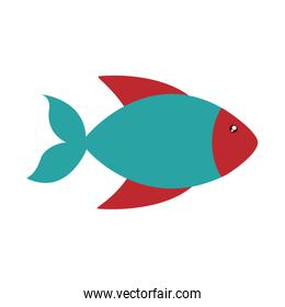 fish cute animal sea little icon