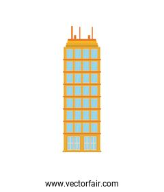 building tower city icon. Vector graphic