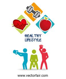 weight lifting healthy lifestyle design