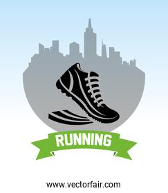 shoes running city design