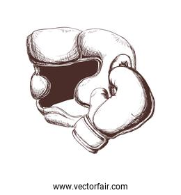 Implement of Boxing sport design