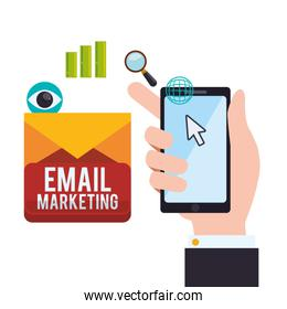 Email marketing and communication media design