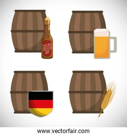 premium quality german beer