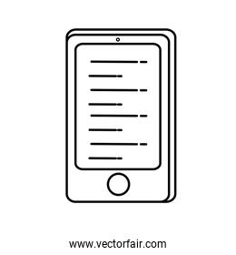 tablet technology isolated icon