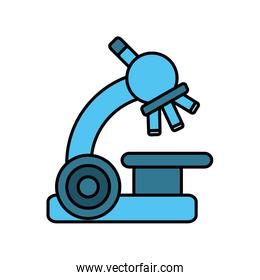 microscope device isolated icon