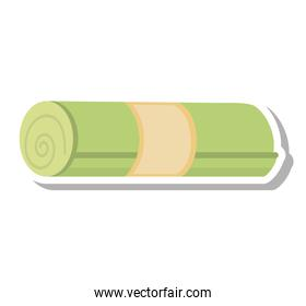 towel spa isolated icon