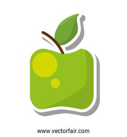 apple healthy fruit icon