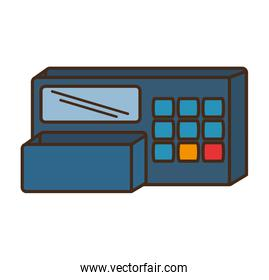 register machine store isolated icon