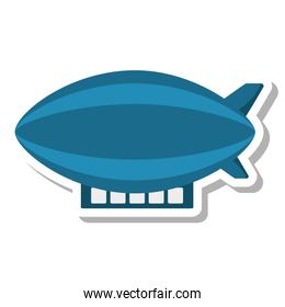zepeling fly isolated icon
