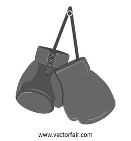 glove boxing equipment isolated icon
