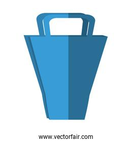 shopping bag market isolated icon