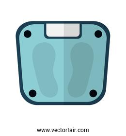 balance measure weight isolated icon