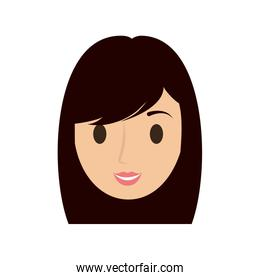 woman female avatar isolated