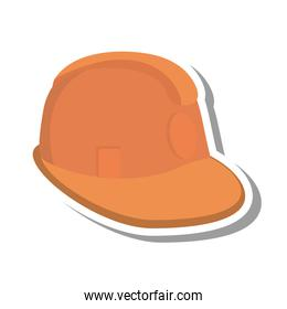 helmet safety isolated icon