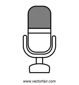 microphone audio device isolated icon