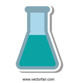 tube test science isolated icon
