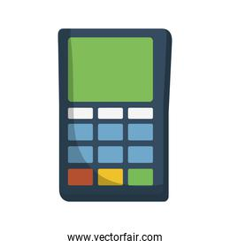 voucher electronic isolated icon