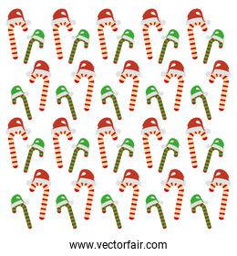 merry christmas sweet cane decoration
