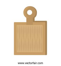 wooden cutting board kitchen and cooking utensils