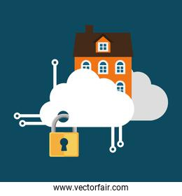 home security cloud technology lock