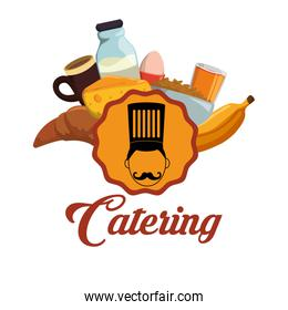 catering food service healthy breakfast poster