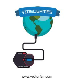 videogames world online connection mouse system