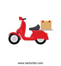 motorcycle speed delivery box