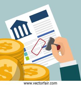 banking credit coins approved