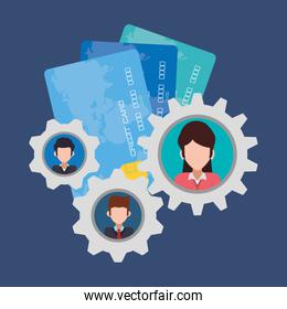 character gears credit card banking