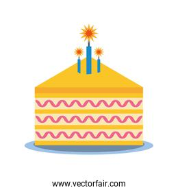 party piece cake icon image
